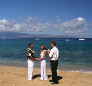Happy Maui Wedding Vow Renewal Package